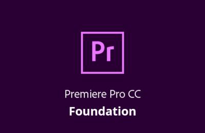 Adobe Premiere Pro CC – Foundation